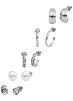Boucles d'oreilles (Ens. 10 pces.), bpc bonprix collection