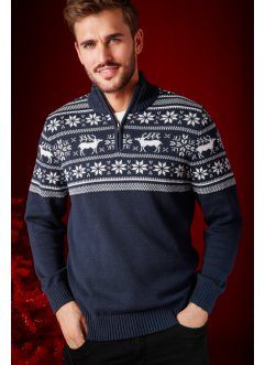 Pull col montant Regular Fit, bpc bonprix collection
