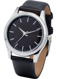 Montre à cadran noir, bpc bonprix collection