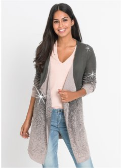 Strickjacke mit Lurex, BODYFLIRT