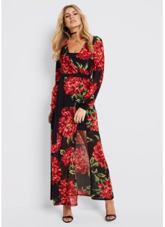Maxikleid mit Blumenprint, BODYFLIRT boutique