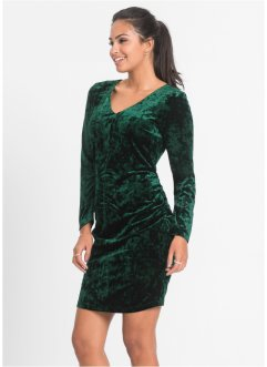 Robe en velours à fronces, BODYFLIRT