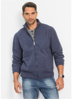 Gilet polaire aspect côtelé Regular Fit, bpc bonprix collection