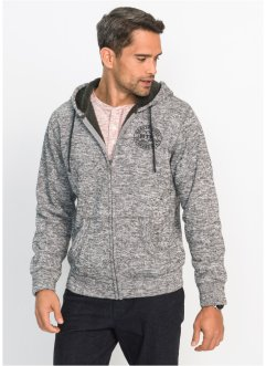 Sweatjacke m. Teddyfutter Regular Fit, bpc bonprix collection