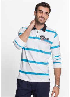 Langarmpoloshirt Regular Fit, bpc selection