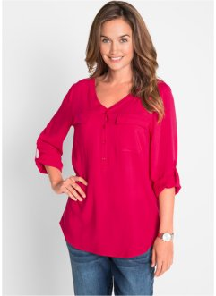 Blouse en viscose manches longues, bpc bonprix collection