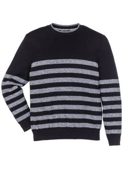 Pullover mit Streifen Regular Fit, bpc selection