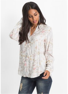 Bluse mit Alloverprint, BODYFLIRT