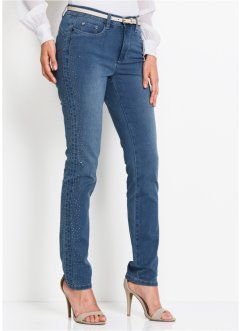 Shape Jeans mit Glitzersteinen, bpc selection premium
