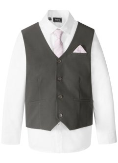 Gilet + chemise + cravate (Ens. 3 pces.), bpc bonprix collection