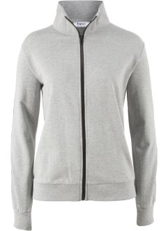 Gilet sweat à rayures, bpc bonprix collection