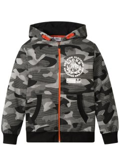 Gilet sweat à imprimé camouflage, bpc bonprix collection