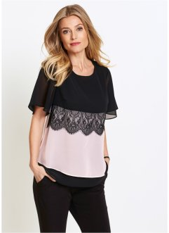Top-blouse à dentelle, bpc selection