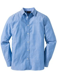 Chemise à motif minimaliste Regular Fit, bpc selection