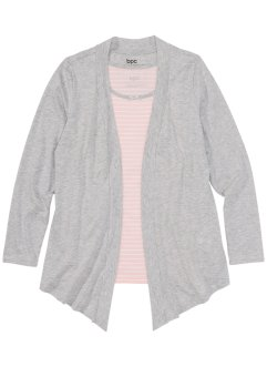 Shirtjacke mit Top, bpc bonprix collection