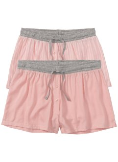Gewebte Shorts (2er-Pack), bpc bonprix collection