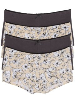 Lot de 4 shorties, bpc bonprix collection
