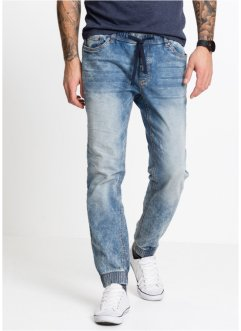 Jean jogging slim fit straight, RAINBOW