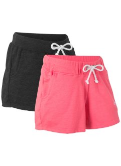 Sweat-Shorts (2er-Pack), bpc bonprix collection