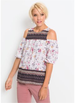 Bluse mit Cut-Outs, RAINBOW