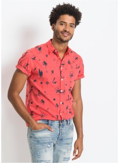 Chemise manches courtes Regular Fit, RAINBOW