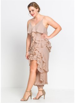 Kleid mit Volants, BODYFLIRT boutique