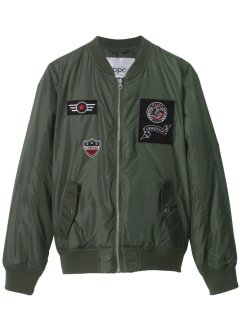 Blouson aviateur avec badges, bpc bonprix collection