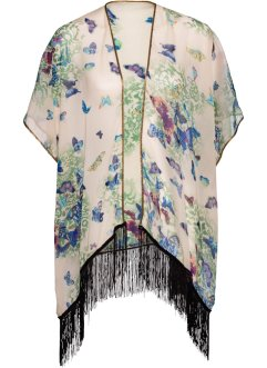 Poncho à franges, bpc bonprix collection