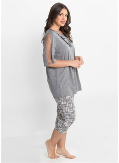 Capri Pyjama mit Leggings, bpc selection