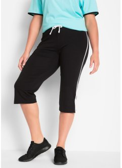 Stretch-Sportcapri, 3/4-Länge, Level 1, 2er-Pack, bpc bonprix collection
