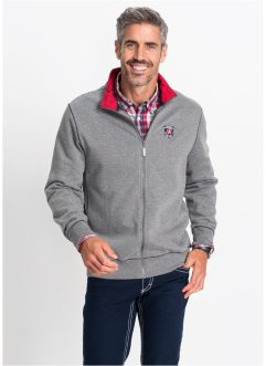 Gilet sweat-shirt Regular Fit, bpc selection