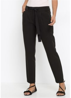 88f617497161 Pantalon avec ceinture  agrave  nouer, BODYFLIRT