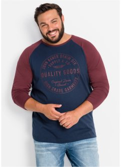 Langarmshirt im Regular Fit, John Baner JEANSWEAR