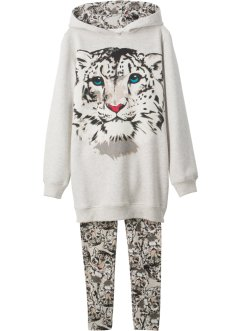 Sweatshirt + Leggings (2-tlg. Set), bpc bonprix collection
