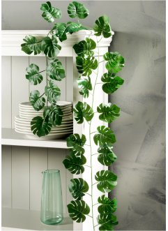 Guirlande artificielle Feuille de Monstera, bpc living