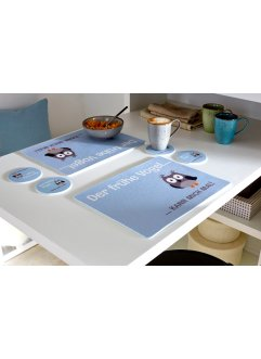 Sets de table Chouette (Ens. 4 pces.), bpc living