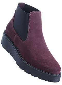 Bottines Chelsea en cuir, bpc bonprix collection