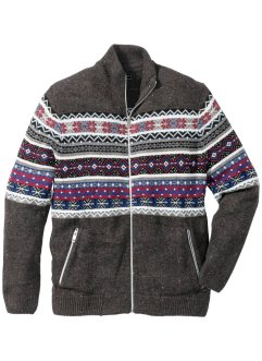 Norweger-Strickjacke Regular Fit, bpc selection