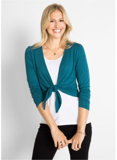 Shirt Bolero zum Binden, Langarm, bpc bonprix collection
