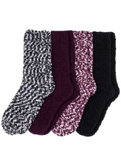Kuschelsocken (4er-Pack), bpc bonprix collection