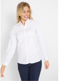 Stretchbluse, langarm, bpc bonprix collection