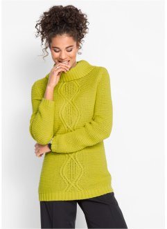 Pullover in Zopfoptik, bpc bonprix collection
