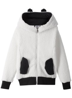 Gilet en polaire peluche à capuche, bpc bonprix collection