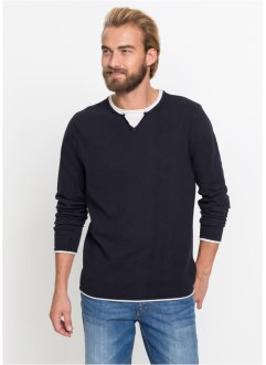 Pullover 2-in-1-Optik, bpc bonprix collection