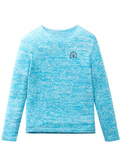 Melierter Slim Fit Pullover, bpc bonprix collection