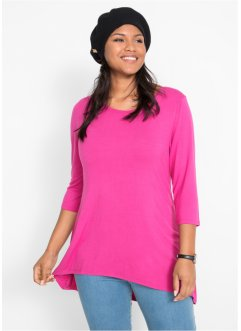 Vokuhila-Shirt mit 3/4-Arm, bpc bonprix collection