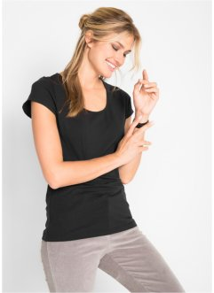 Stretch-Shirt, Kurzarm, bpc bonprix collection