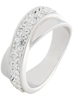 Bague sertie de cristaux Swarovski®, bpc bonprix collection