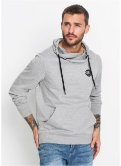 Sweatshirt mit Stehkragen Slim Fit, RAINBOW
