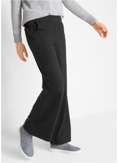 Punto di Roma Jazzpants mit Rundumgummibund, Flared, bpc bonprix collection